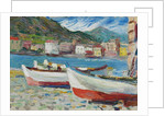 Rapallo, Boats by Anonymous