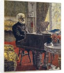 Portrait of the Composer Giuseppe Verdi by Anonymous