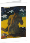 Vahine no te miti (Woman at the beach) by Anonymous