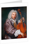 Portrait of a Cellist by Anonymous
