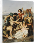 Zenobia Discovered by Shepherds on the Banks of the Araxes by Anonymous