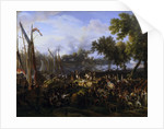 French Army Crossing the Rhine at Dusseldorf, September 6, 1795 by Anonymous
