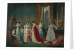 Preparation for the coronation by Anonymous