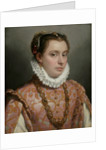 Portrait of a Young Lady by Anonymous