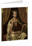 Portrait of Alfonso X, King of Castile, León and Galicia by Anonymous