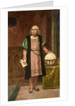 Portrait of Christopher Columbus by Anonymous