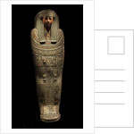 The wooden coffin of Pensenhor by Anonymous