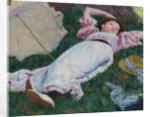 Reclining woman by Anonymous