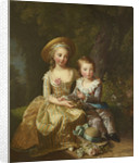 Portrait of Madame Royale and Louis-Joseph Xavier, Dauphin of France by Anonymous