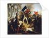 Battle outside the Hôtel de Ville, 28 July 1830 by Anonymous