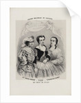 Caroline Miolan-Carvalho, Delphine Ugalde and Caroline Duprez in Le Nozze di Figaro by Wolfgang Am by Anonymous