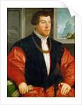 Portrait of Christoph Baumgartner by Anonymous