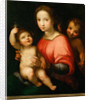 Virgin and child with John the Baptist as a Boy by Anonymous