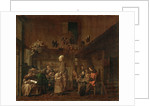 The Shoemakers Workshop by Anonymous