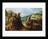 Landscape with Road to Emmaus by Anonymous