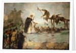 The Miracle of a Dominican Saint (Saint Goncalo de Amarante?) by Anonymous
