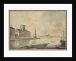 View of the Neva and the Academy of Sciences by Anonymous