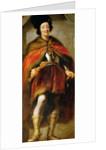 Portrait of Emperor Ferdinand III by Anonymous