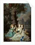 Portrait of Queen Marie Antoinette of France with children, 1790 by Anonymous