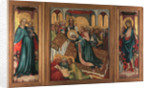 The Death of the Virgin. The Roudnice Altarpiece, c.1410 by Anonymous