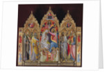 The Coronation of the Virgin, Early 15th cen by Anonymous