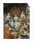 Allegory of the regency of Ulrika Eleonora of Sweden, End of 17th cen by Anonymous
