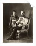 Tsar Nicholas II and Tsarevich Alexei, c. 1910 by Anonymous
