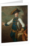 Portrait of the Tsar Peter III of Russia, Early 1760s by Anonymous