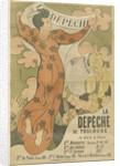 Poster for the newspaper La Dépêche de Toulouse, 1892 by Anonymous