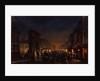 Paris, Boulevard and the Porte Saint-Denis, 1855 by Anonymous