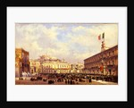 Arrival of Vittorio Emanuele II in Naples, 1860 by Anonymous