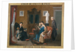 Family Reading of The Betrothed, 1876 by Anonymous