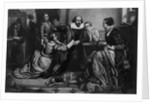 William Shakespeare Reciting Hamlet to His Family, 1900 by Anonymous