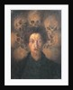 Self-portrait with skulls (Autoritratto con teschi), 1909 by Anonymous