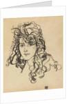 Girls head (Frau Sohn), 1918 by Anonymous