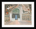 Stage design for the ballet The Little Humpbacked Horse by C. Pugni, 1939 by Anonymous
