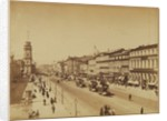 View of the Nevsky Prospekt in Saint Petersburg, c. 1890 by Anonymous