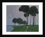 Landscape with the rider, 1910 by Anonymous