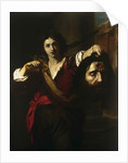 David with the Head of Goliath, ca. 1628-1629 by Anonymous