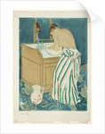 A Woman bathing, 1890-1891 by Anonymous