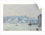 View of the Thames: Charing Cross Bridge, 1874 by Anonymous