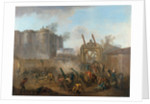 The Storming of the Bastille on 14 July 1789, c. 1789 by Anonymous