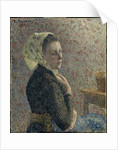 Femme au fichu vert (Woman with green scarf), 1893 by Anonymous