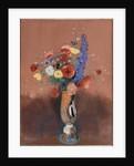 Bouquet de fleurs des champs dans un vase à long col (Wildflowers in Tall Vase), c. 1912 by Anonymous