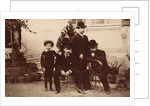 Pyotr Tchaikovsky, Modest Tchaikovsky, Nikolai Conradi and Alexey Sofronov by Anonymous