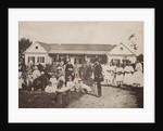 Pyotr Tchaikovsky with the Davydov Family in the Kamenka Estate, 1875 by Anonymous