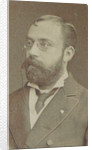 Portrait of the conductor and composer Enrico Bevignani, Early 1880s by Anonymous