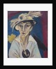 Portrait of Erna Schilling (Lady with Hat), 1913 by Anonymous