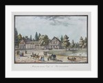 Maisons russes. Café and Restaurant in Catharinhof, 1824 by Anonymous