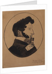 Poet Alexander Sergeyevich Pushkin with the Chamberlains key, 1830s by Anonymous